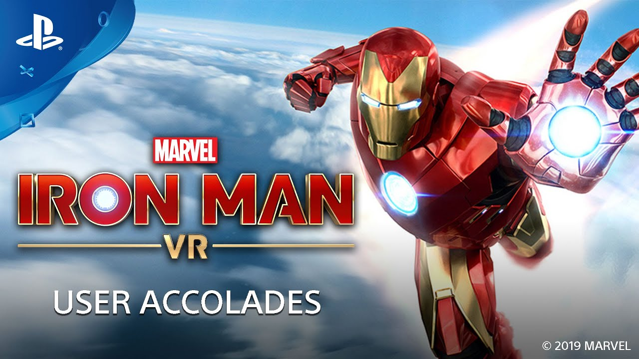 Marvel's Iron Man VR   User-Accolades-Trailer   PS VR