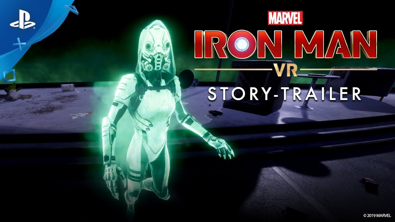 Marvel's Iron Man VR – Story-Trailer   PS VR
