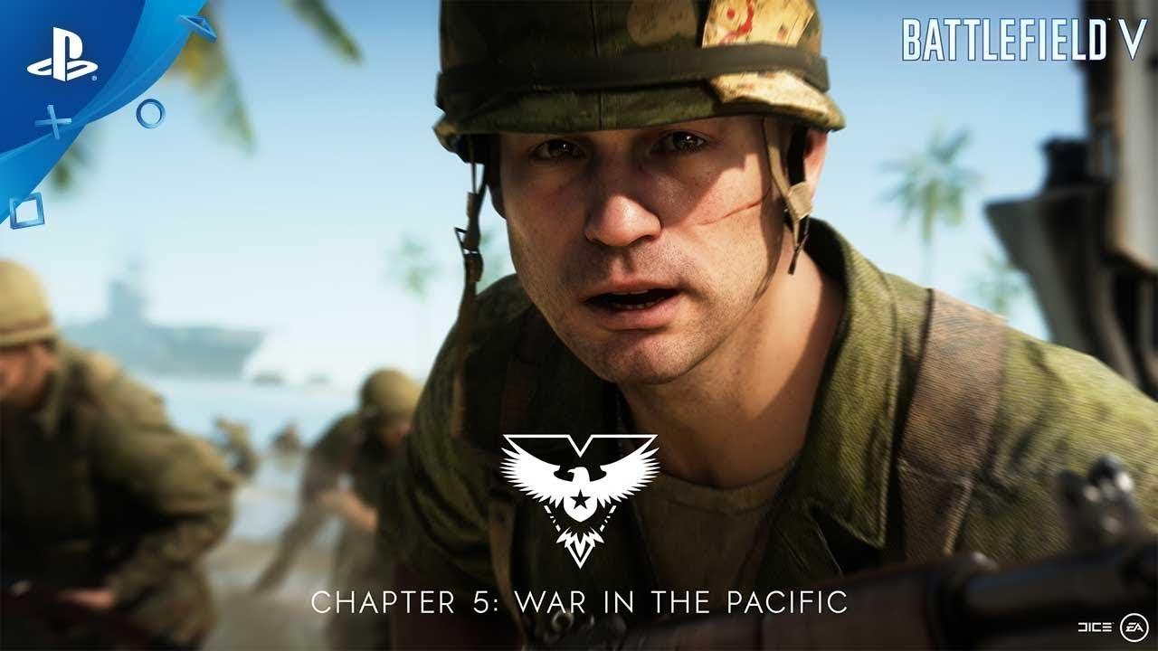 Battlefield V   Pazifikkrieg Trailer   PS4, deutsch