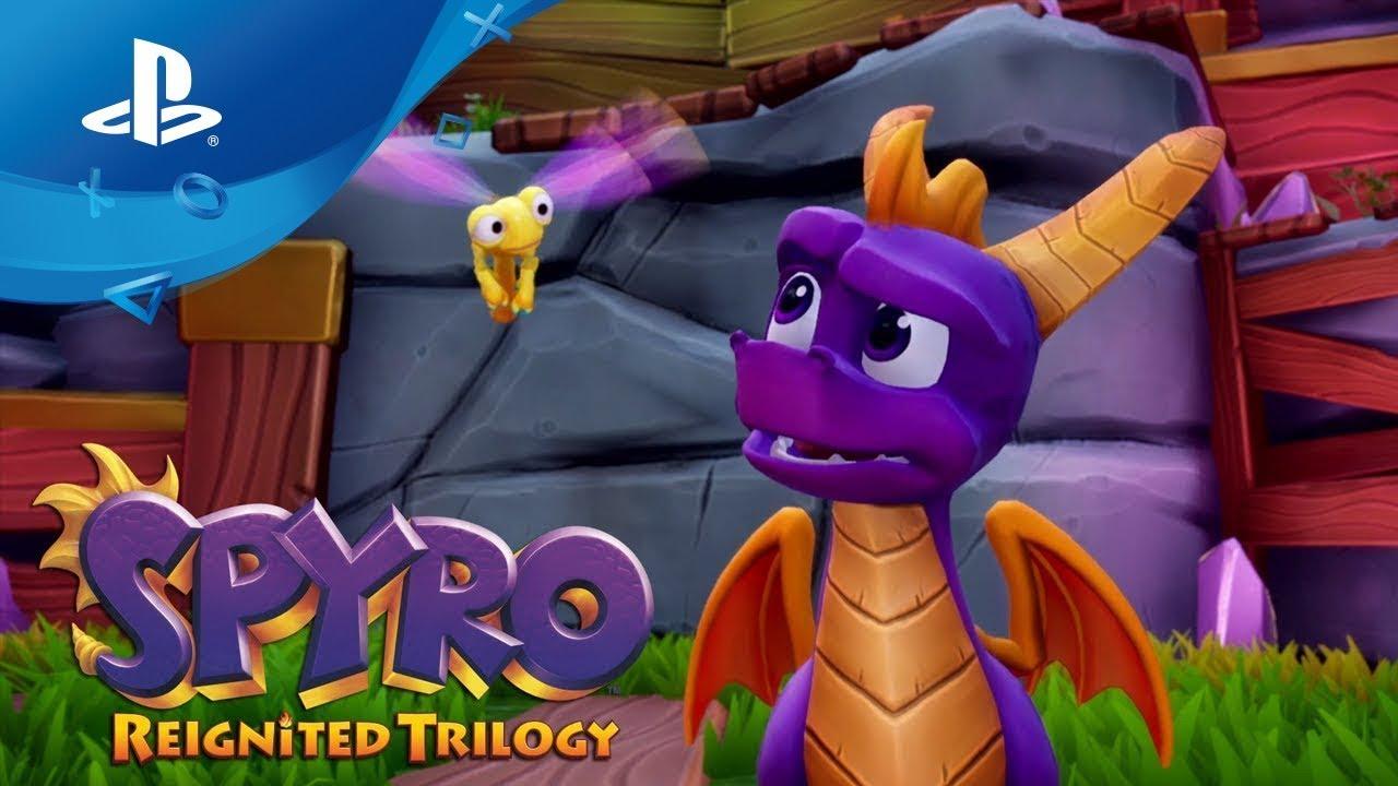 Spyro Reignited Trilogy – Launch Trailer [PS4, deutsch]