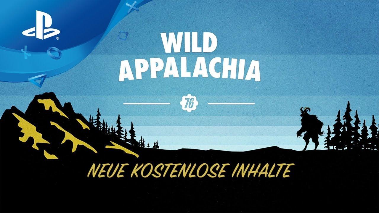 Fallout 76 – Wild Appalachia Launch Trailer deutsch [PS4]