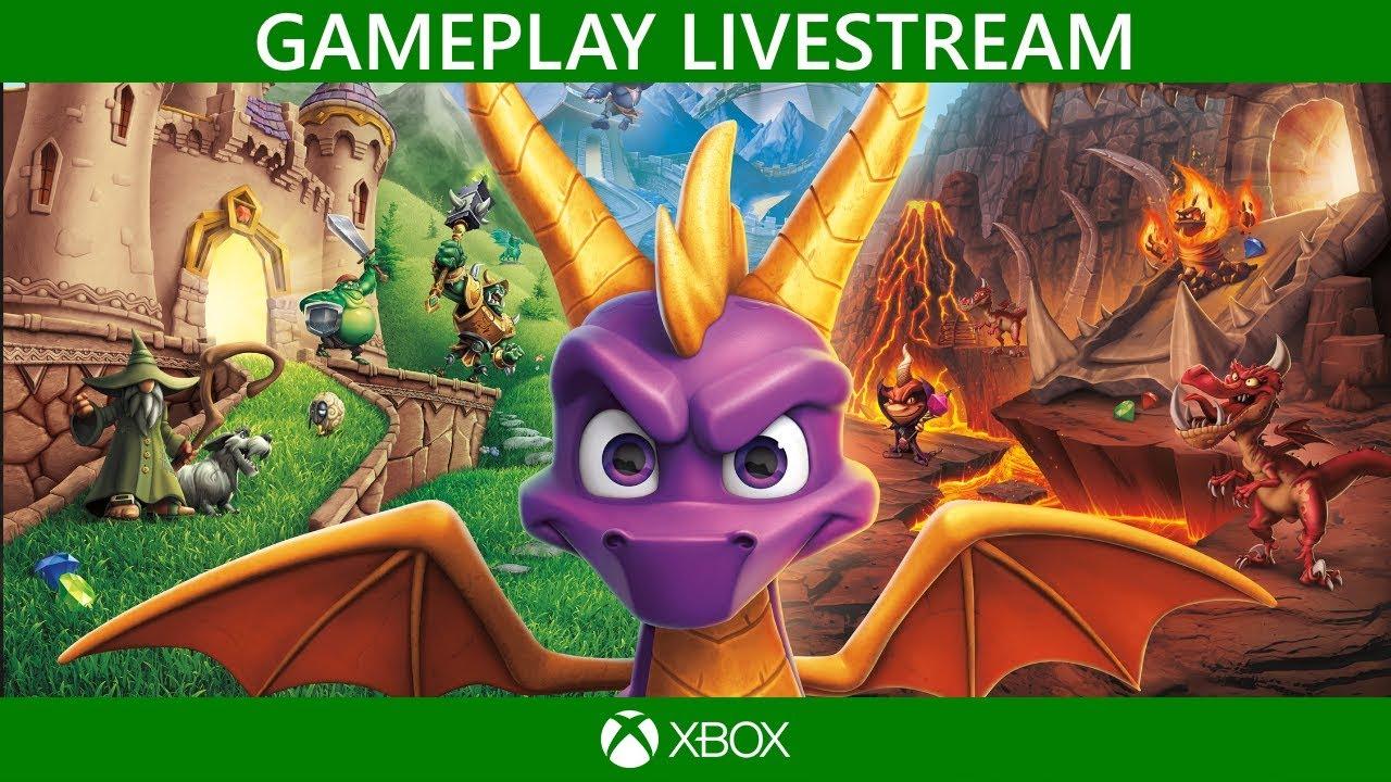 🔴 Spyro Reignited Trilogy | Gameplay Livestream