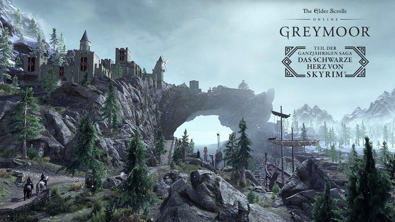 """""""The Elder Scrolls Online: Greymoor"""" – Steigt in das Schwarze Herz von Skyrim hinab"""