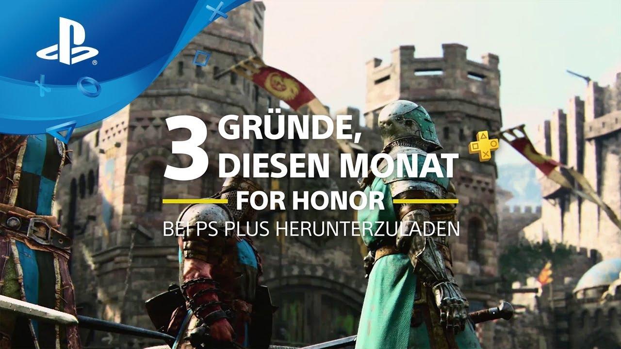 3 Gründe, diesen Monat For Honor bei PS Plus herunterzuladen [PS Plus, deutsch]
