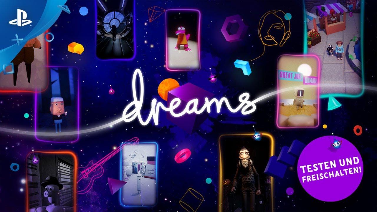 Dreams | Demo Trailer | PS4, deutsch