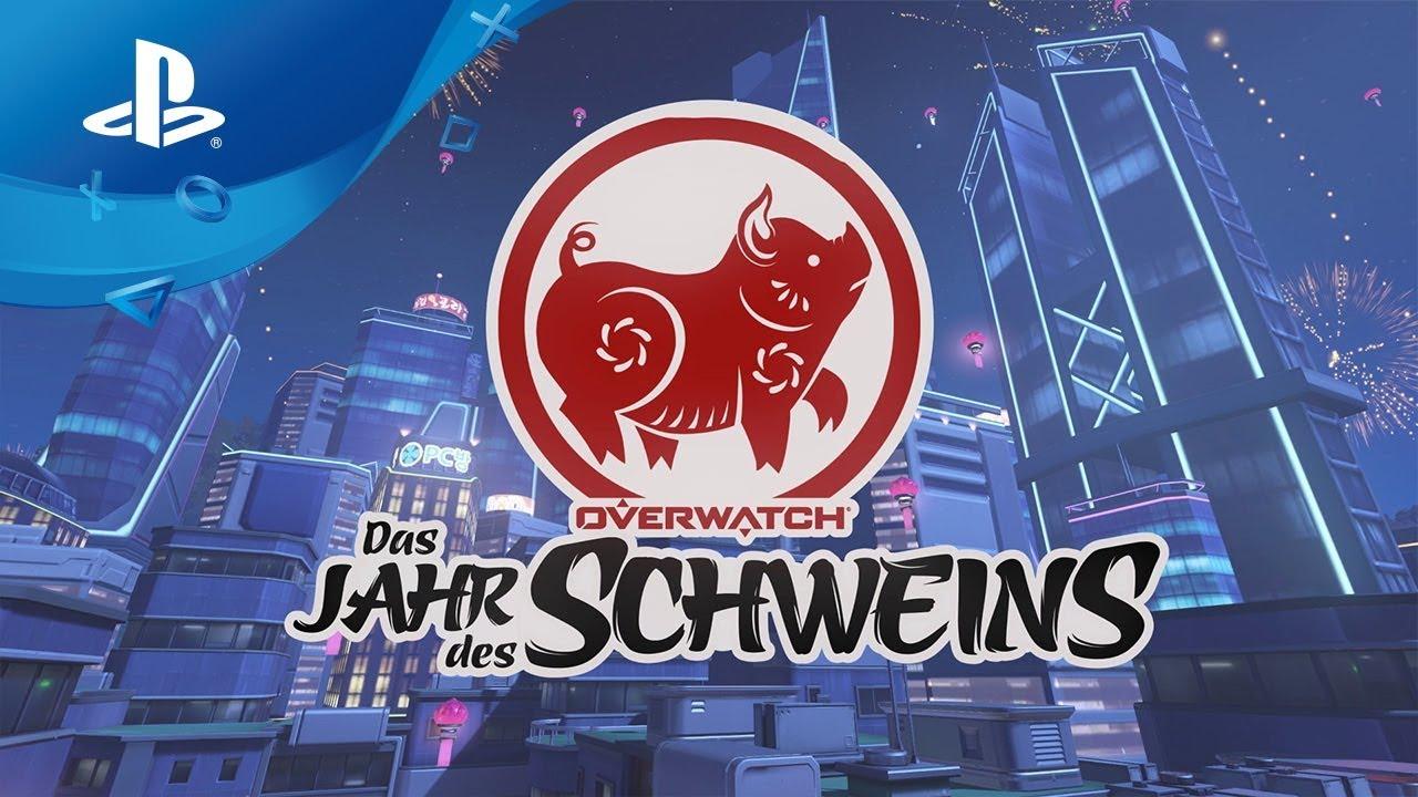 Overwatch – Das Jahr des Schweins [PS4, deutsch]