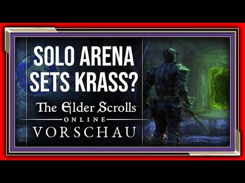 ESO Die neue Meta? BiS Waffen der Solo Arena? | The Elder Scrolls Online Stonethorn Vorschau