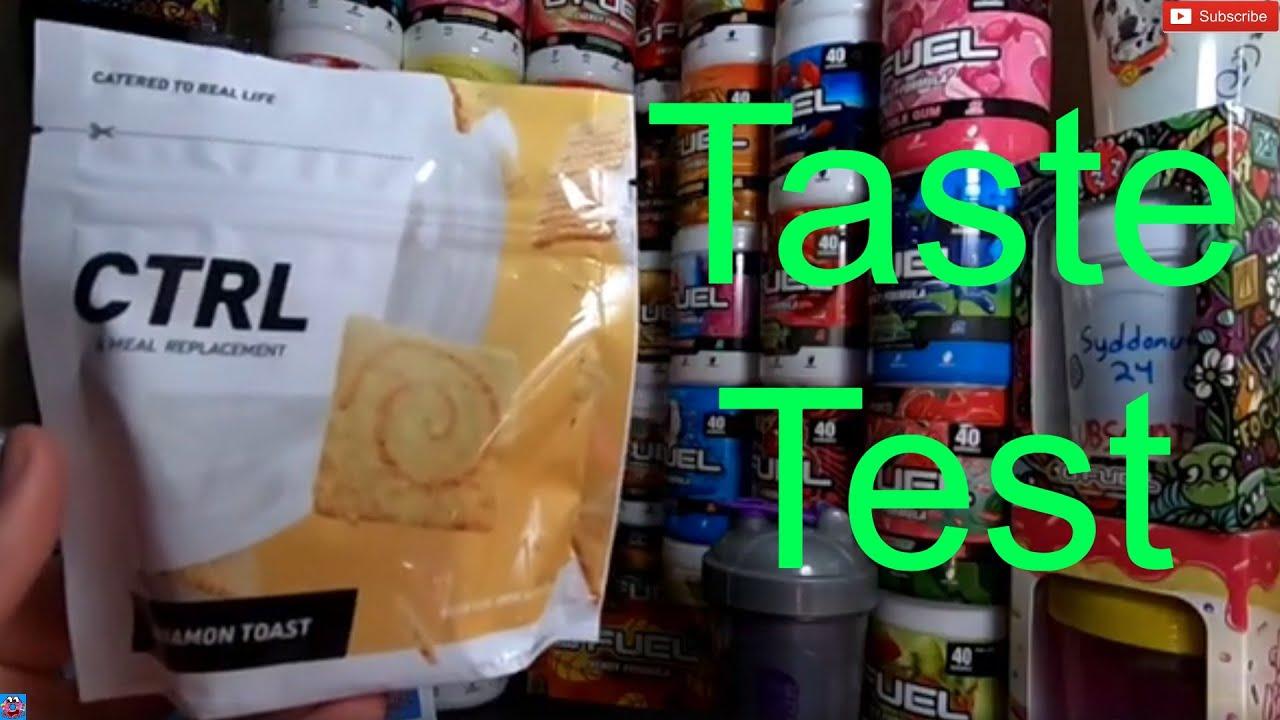 Cinnamon Toast Drink CTRL Taste Test!?!?!?