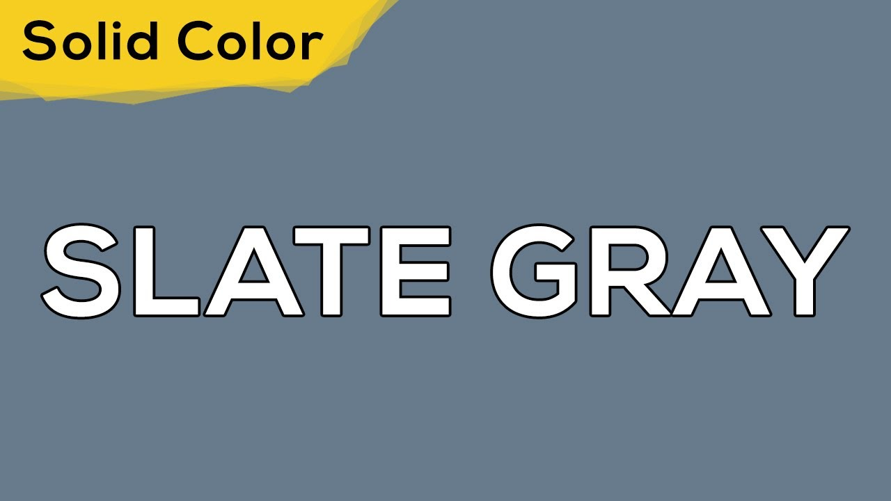 SLATE GRAY – Solid Color Light 127 💡 illumination, ambient, monitor test, wallpaper . jomirife