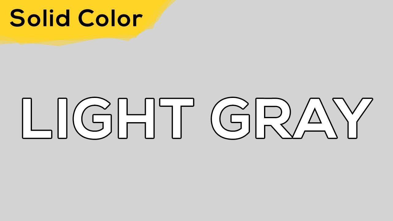 LIGHT GRAY – Solid Color Light 121 💡 illumination, ambient, monitor test, wallpaper . jomirife