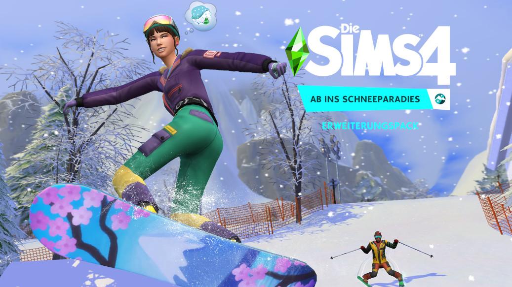 Die Sims 4 : Ab ins Schneeparadies – Test