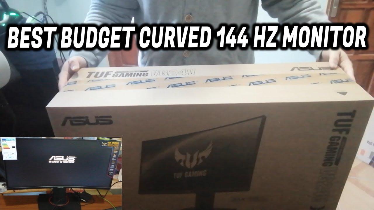 Asus TUF Gaming VG24VQ Unboxing (kutu açılım) Review and Test
