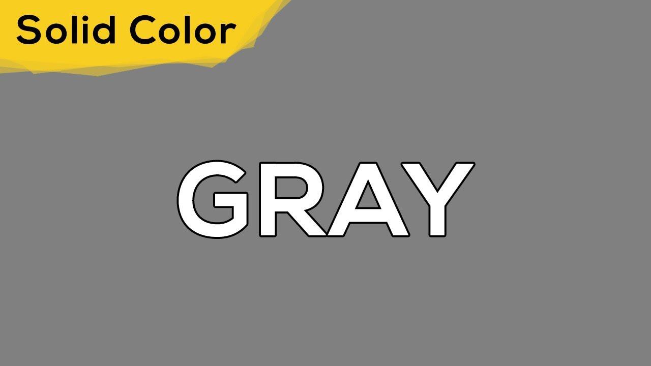 GRAY – Solid Color Light 122 💡 illumination, ambient, monitor test, wallpaper . jomirife