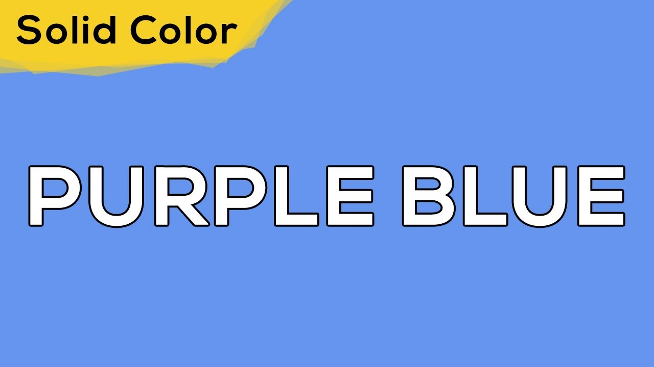 PURPLE BLUE – Solid Color Light 83 💡 illumination, ambient, monitor test, wallpaper . jomirife