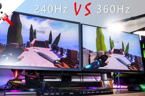 240Hz VS 360Hz by FPS Veteran feat. ASUS PG259QNR Monitor