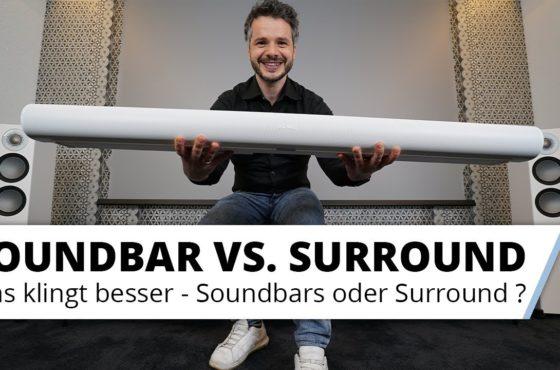 Soundbar oder Surround-System (AV-Receiver mit Lautsprechern) mit Dolby 5.1, 7.1 oder Atmos?