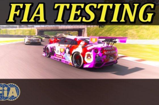 GT Sport FIA Test Run – Testing Strategy