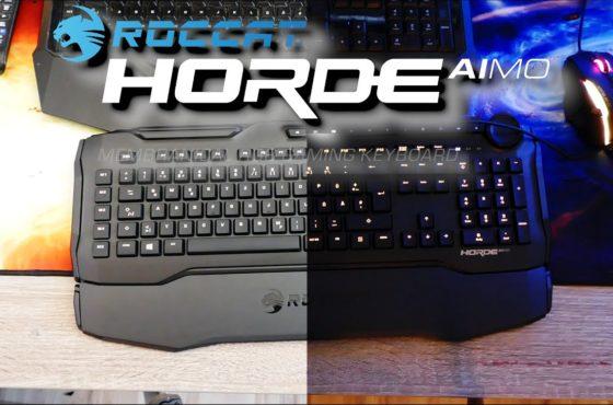 Roccat Horde Aimo – Eine nagelneue Tastatur | Unbxing, aufbauen und kleines Review