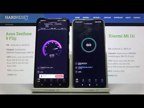 Asus ZenFone 8 Flip vs Xiaomi Mi 11i – Wi-Fi Speed Test Comparison   by Ookla