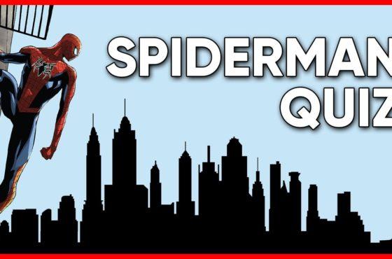 SPIDERMAN QUIZ – 15 Fragen