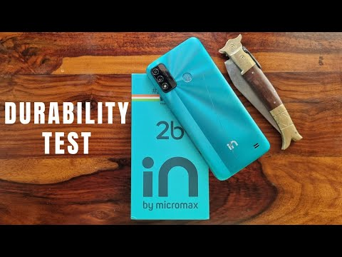 Micromax IN 2b Durability Test – I can't break It !