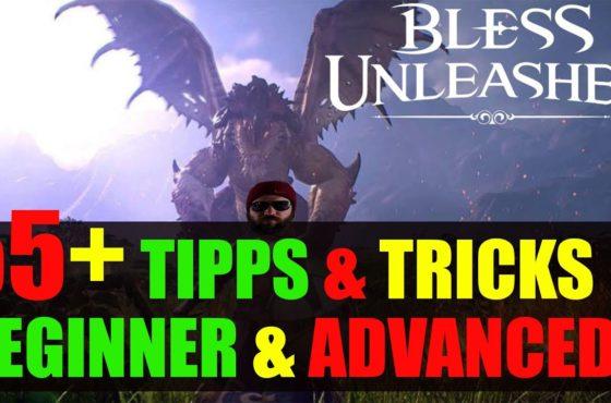 Bless Unleashed Online Tips & Tricks Guide🔥 Beginner, Skills, Klassen, deutsch, german