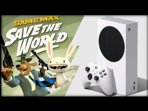 Xbox Series S | Sam and Max Save the World Remastered | Graphics Test/Loading Times