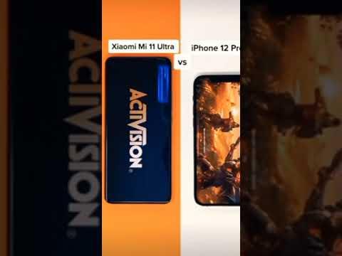 Mi 11 ultra🔥vs iPhone 12 pro🔥😱speed test⚡🔥#xiaomi #iphone #apple #short #speedtest #youtubeshorts