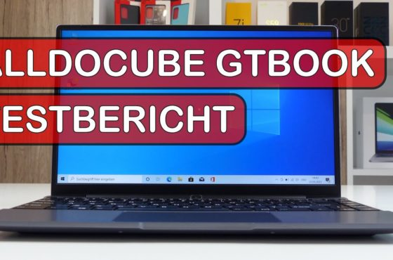 Alldocube GTBook Testbericht: 10nm Celeron N5100 & WiFi 6 für ~300€