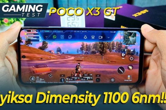 Gaming Test Xiaomi Poco X3 GT 5G PUBG mobile Genshin Impact Indonesia