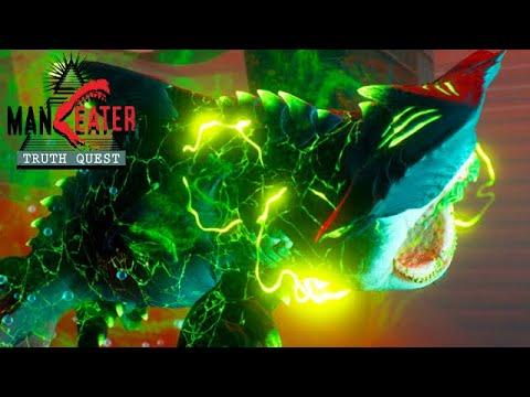 Maneater Truth Quest DLC Gameplay Deutsch #01 – Der Atom Hai