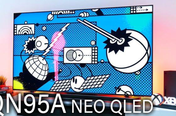 SAMSUNG QN95A – Der BESTE Gaming TV den ich jemals hatte!!