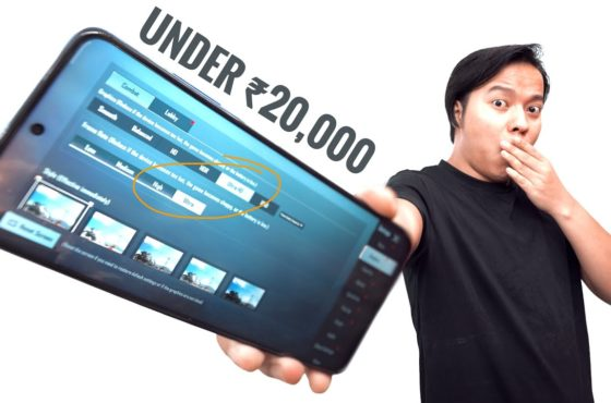 Let's Test The Most Powerful Gaming Phone Under ₹20,000 !!