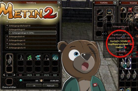 Metin2 DE | 🐍 SCHLANGEN WAFFEN / 42dss loot | Let´s Play Metin2.de Azrael | Vossi