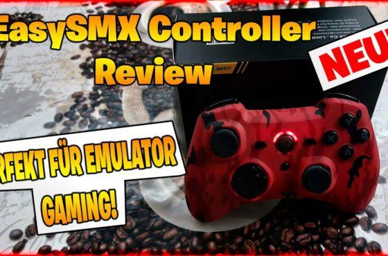 🔥 PERFEKT für EMULATOR GAMING auf dem PC! | EasySMX Controller Review & Test (Deutsch)