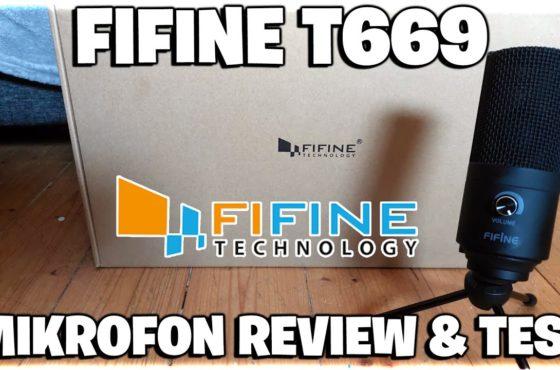 🛒 PERFEKTES und Günstiges Einsteiger & Streaming Mikrofon! ❗ FIFINE T669 Mikrofon Review & Test