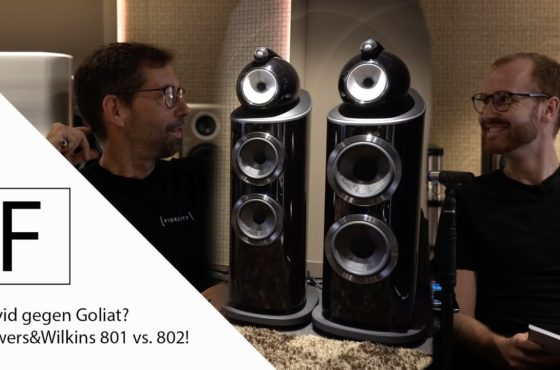 Bowers&Wilkins 801 D4 vs. B&W 802 D4 Hörvergleich der neuen Diamond Serie an T+A HV & Audioquest.