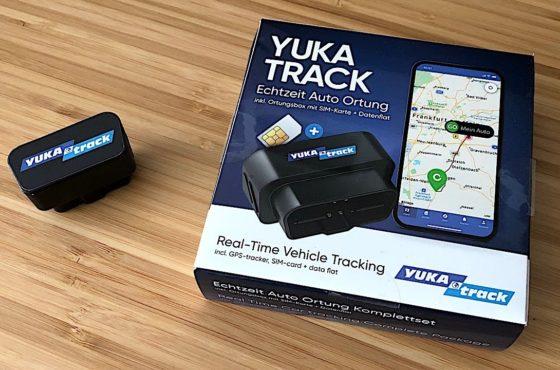 YUKAtrack Testbericht – Echtzeit GPS Auto Ortung vom Smartphone