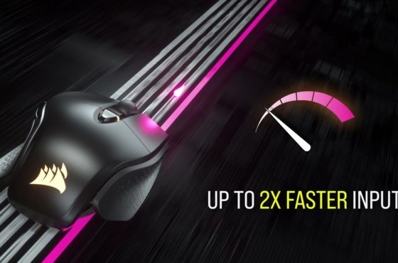 CORSAIR M65 RGB ULTRA Wireless Gaming Mouse – Ultra-Fast. Ultra-Precise.