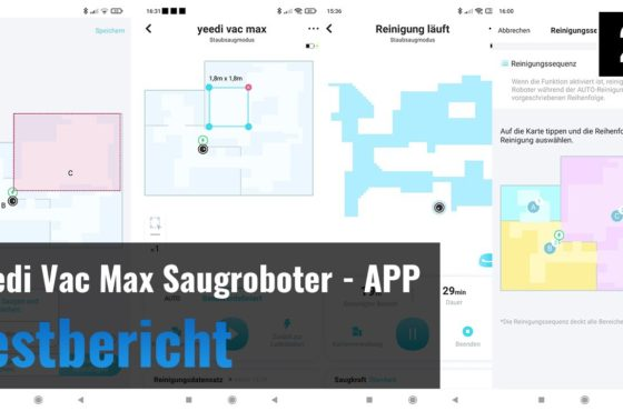 Yeedi Vac Max im Test – Saugroboter mit optionaler Absaugstation – Die App