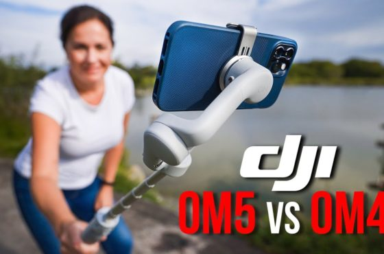 DJI OM5 smartphone gimbal with iPhone & Android | IN DEPTH REVIEW