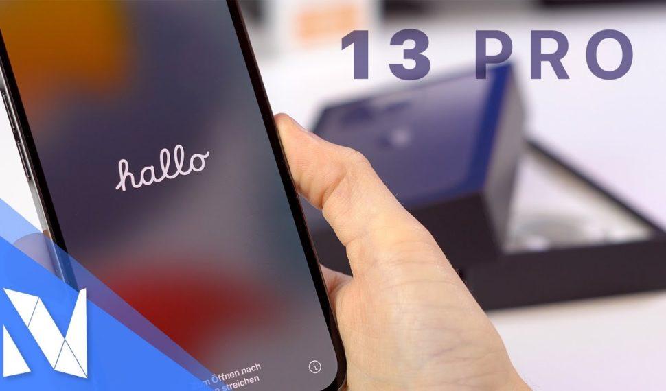 iPhone 13 Pro Unboxing! – Erster Eindruck & Vergleich zum iPhone 12 Pro!   Nils-Hendrik Welk