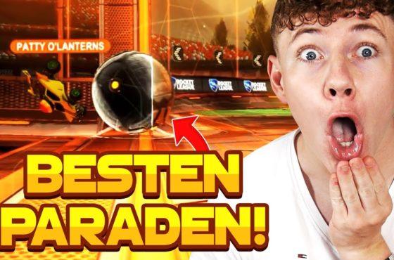 Die BESTEN PARADEN in ROCKET LEAGUE auf der WELT! 😱 | Rocket League deutsch