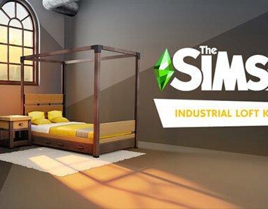 Die Sims 4: Industrie-Loft-Set