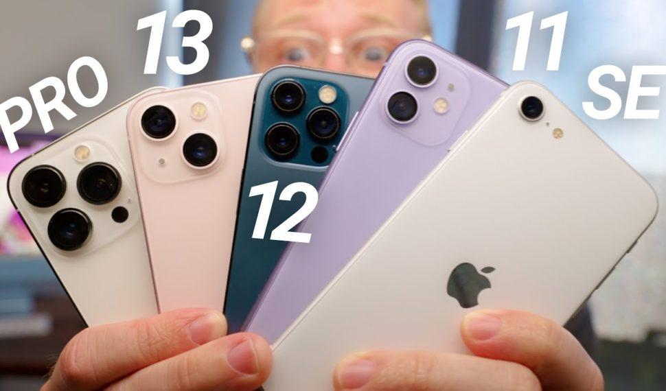 iPhone 13 Camera Test vs iPhone 12, 11 & SE!
