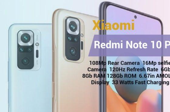 Xiaomi Redmi Note 10 Pro Mobile Legend and video test