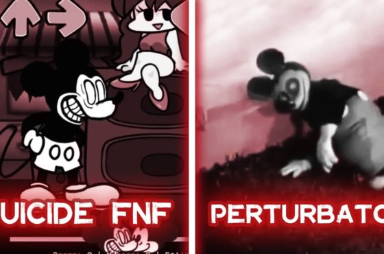 Suicide Mouse FNF VS Mickey Mouse PERTURBADOR  |  Mickey Mouse Is Insane