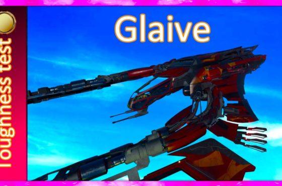 3.14 Toughness test Glaive – Hangar Queen