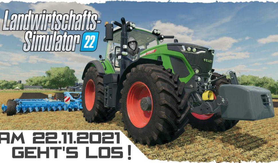 Landwirtschafts-Simulator 22 👨🌾 Am 22.11.2021 geht's los!   PC   Xbox   PlayStation   LS22 deutsch