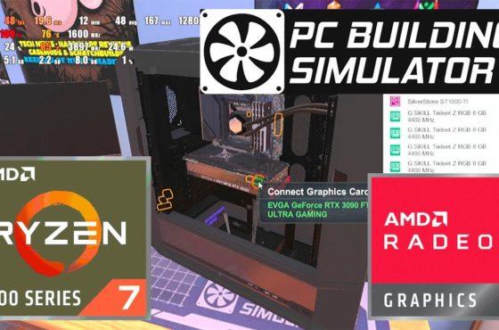 PC Building Simulator – AMD Ryzen 7 4700U – Radeon Vega 7 – Test Gameplay